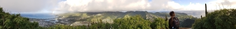 panorama view Koko Head summit - raelynne | ello