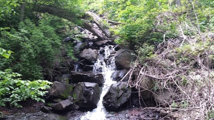 tiny waterfall - findog2 | ello