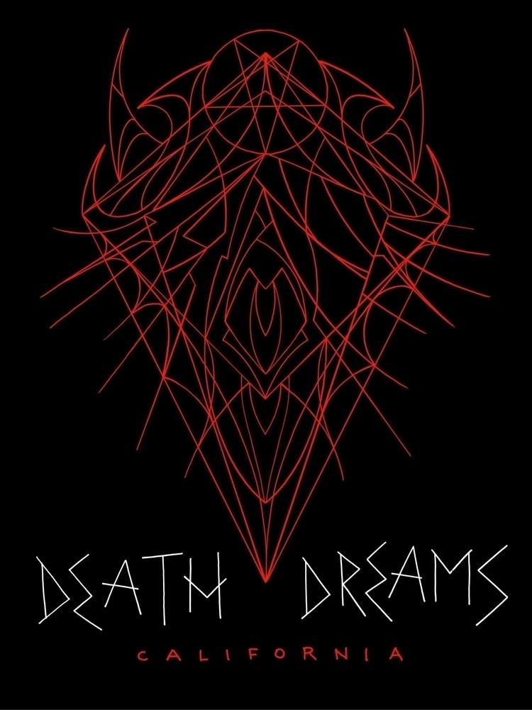 illustration, dark, deathdreams - alexjdsmith | ello