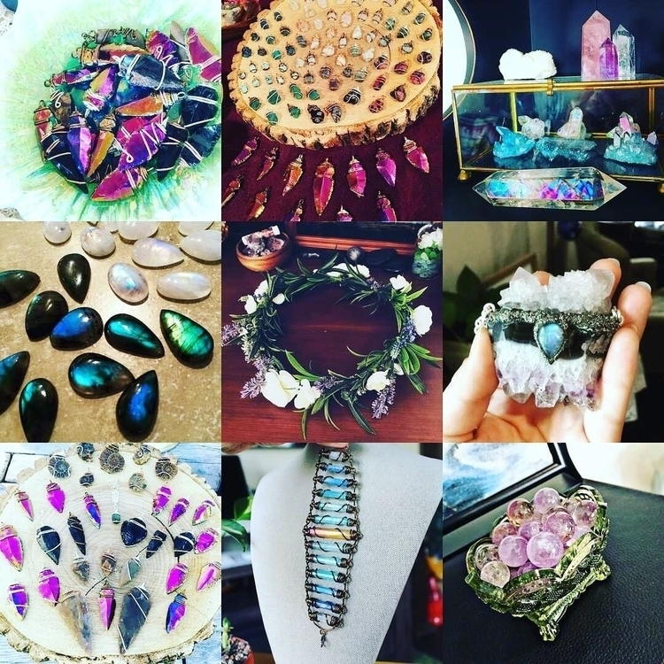 Crystals galore - crystals, gemstones - mermaidtearshawaii | ello