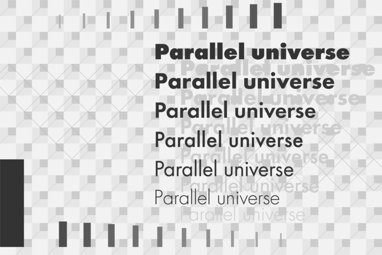 多重宇宙論。 Parallel universe. 設計 陳臆 - yiruchen | ello