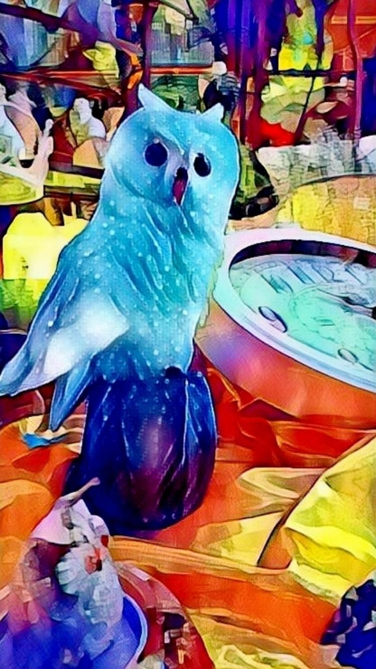 OWL TIME - novaexpress93, owl, clock - novaexpress93 | ello