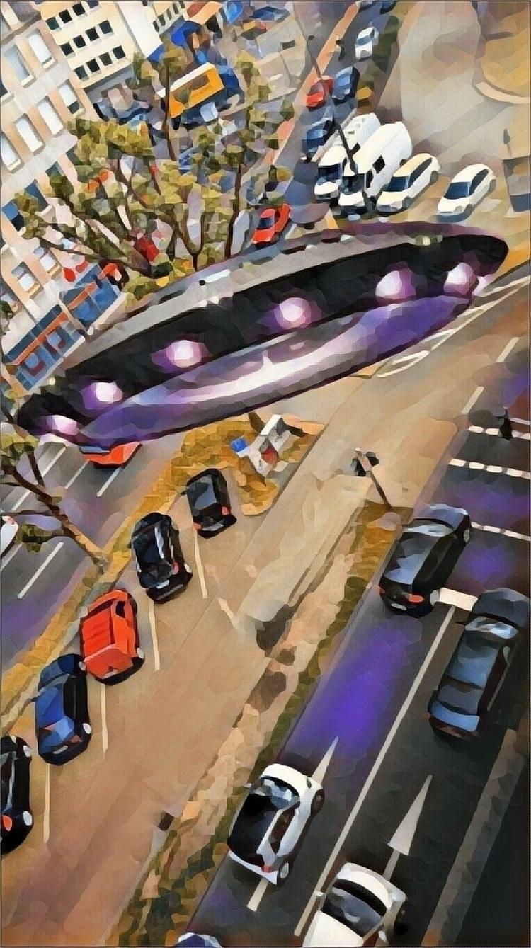 INVASION - novaexpress93, ufo, street - novaexpress93   ello