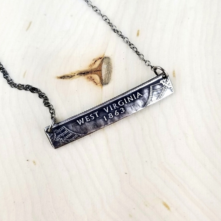Stand unique twist bar necklace - midnightjo | ello