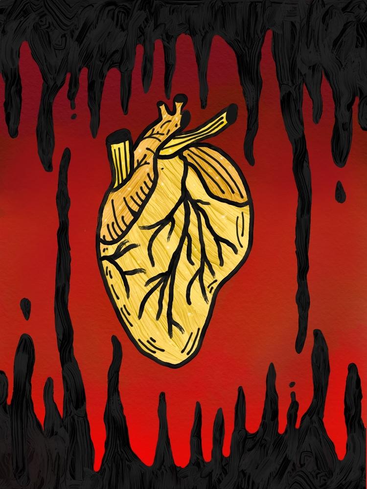 Heart Gold - bayleefarris | ello