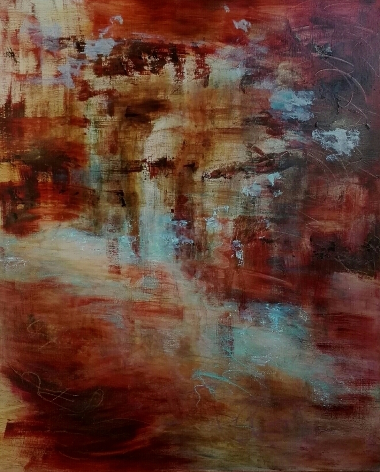Vanhat henget. spirits - painting - artleenakr | ello