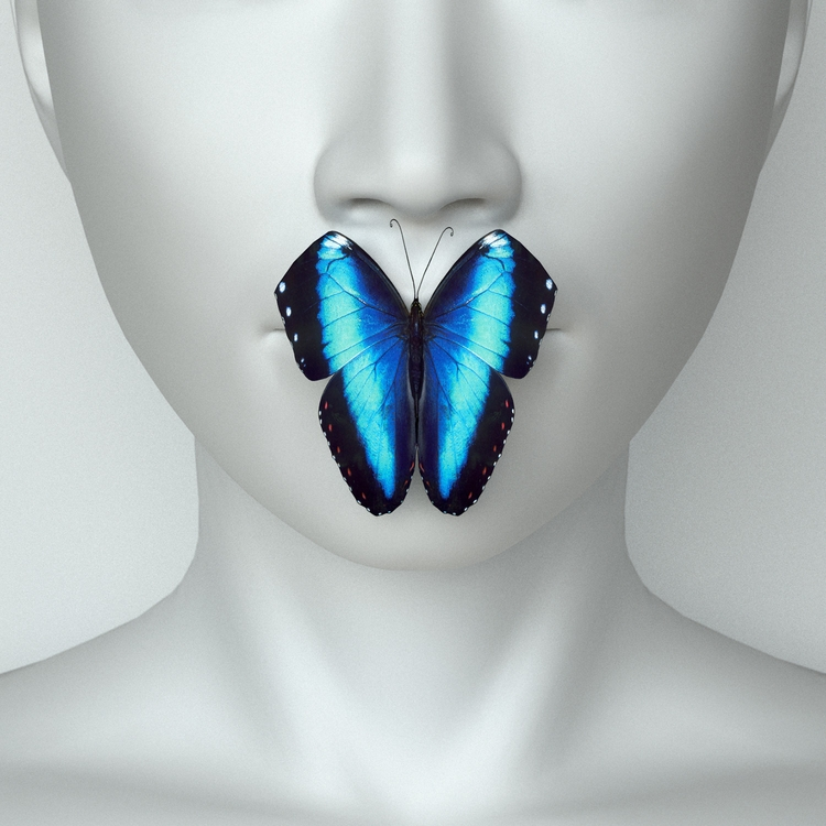 Secret - butterfly, 3D, Digital - z3rogravity | ello