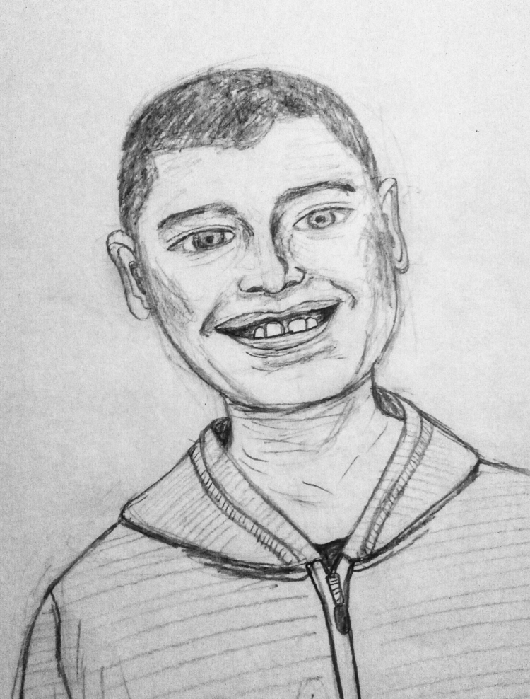 sketched - portrait, illustration - imaginarythinking   ello