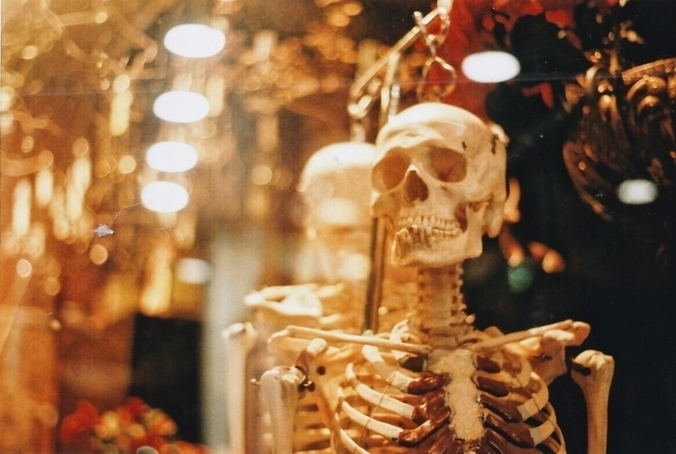 Stumbled skeleton antique store - triflesandtreasures | ello