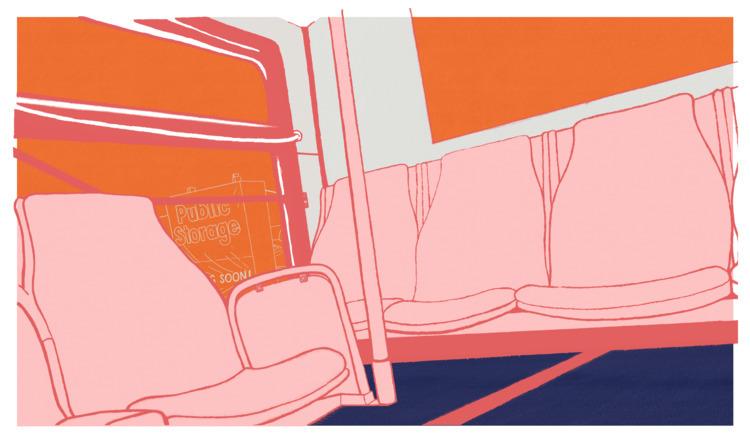 South Tamarac Parkway - illustration - mikekronberger | ello