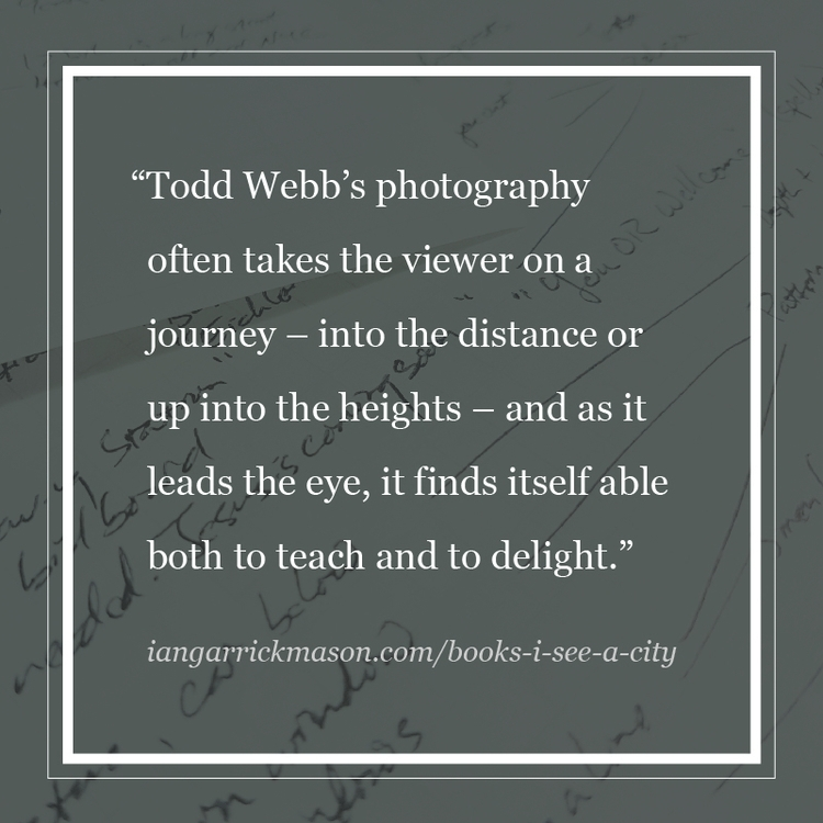 Photographer Todd Webb left ins - iangarrickmason   ello
