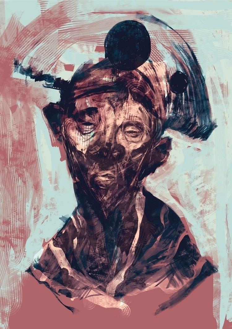 Viriato Pintura Digital (2015 - digitalpainting - jonasgomes | ello