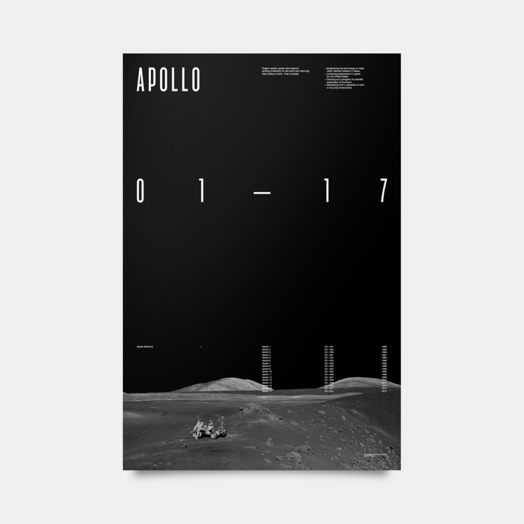 Apollo Mission Poster - jschachterle | ello