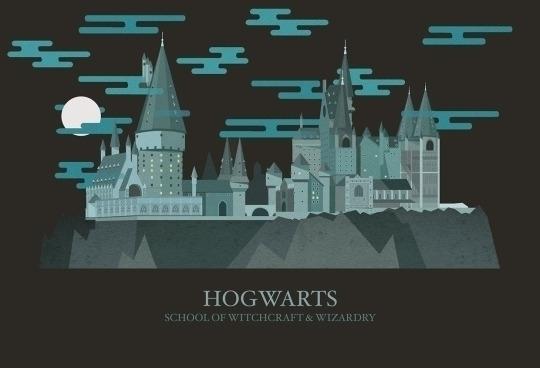 Harry Potter Magical spaces - C - penleydesigns | ello