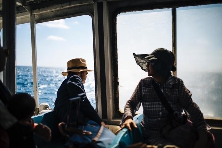 Ferry ride Okinawa - travel, japan - afaulkphoto | ello