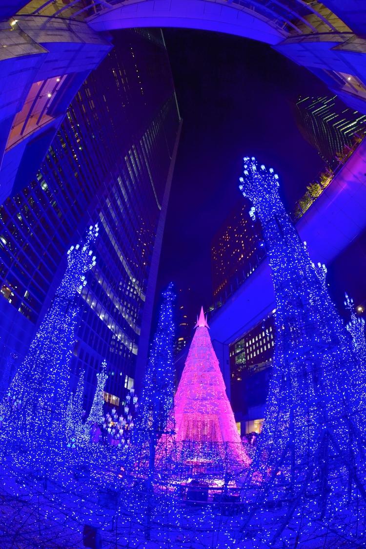 Kretta Shiodome illuminations - japan - yoshirou | ello