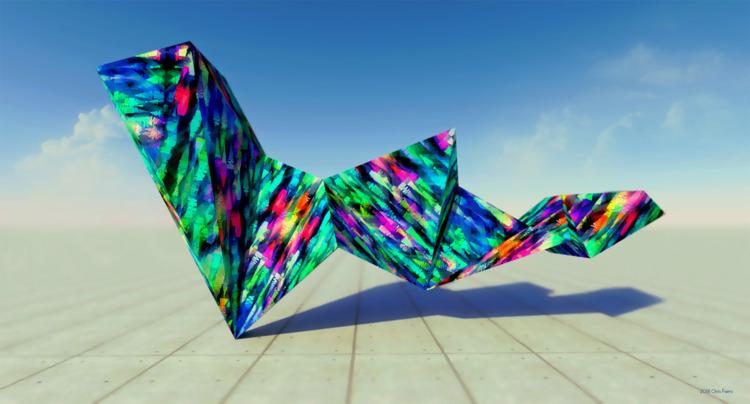 Artefacto / 3d digital art - mo - chrisfierro | ello