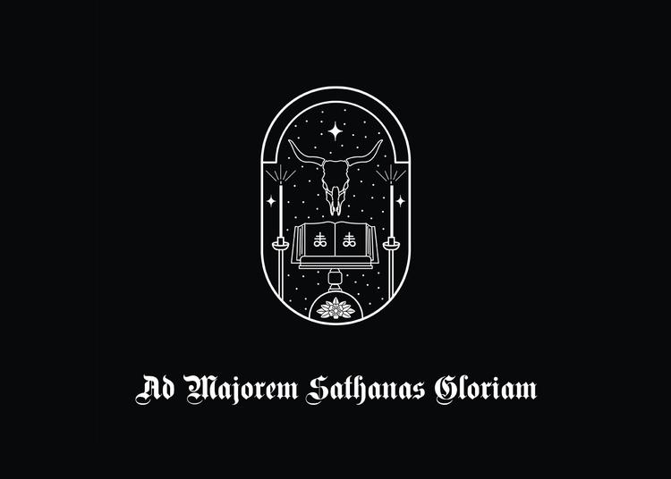 Ad Majorem Sathanas Gloriam - vector - karthikvernekar | ello