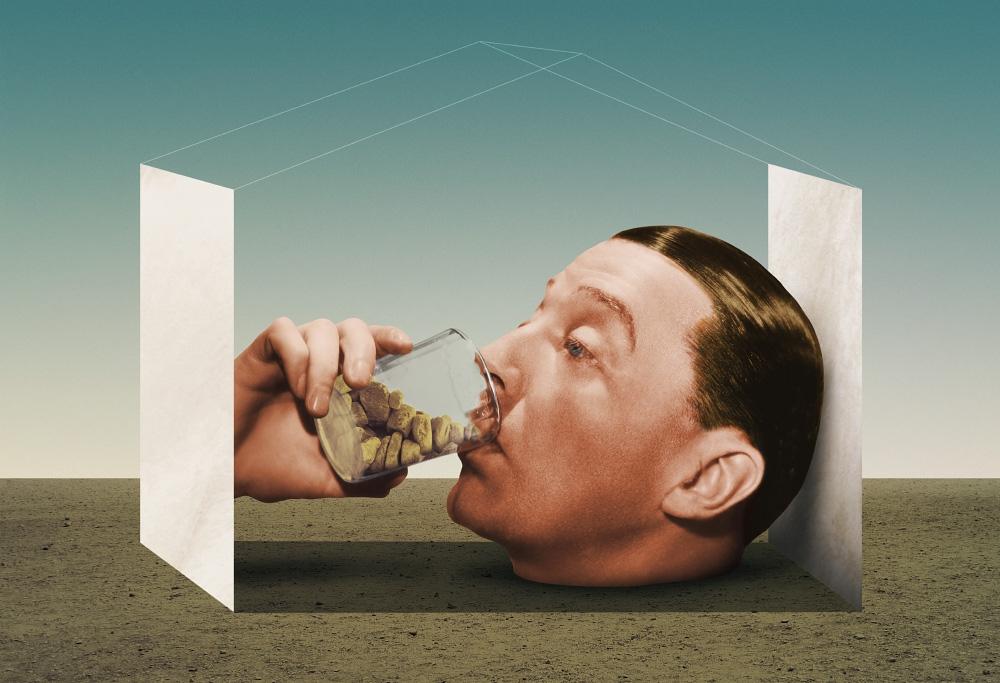 Rocks, 2018 - collage, ellocollage - julienp | ello