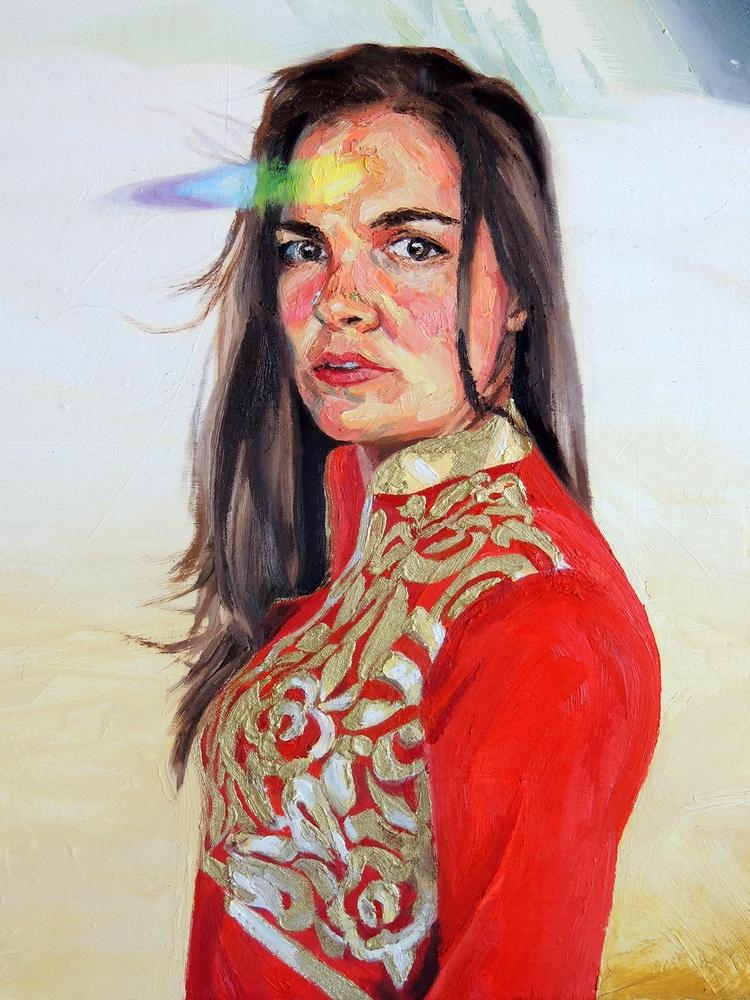 oil paintings 2017 cosmic visio - bluestarseed | ello