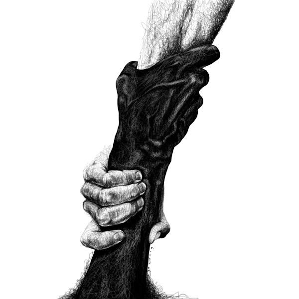Scribble series - scribble, blackandwhite - goragorskiy | ello