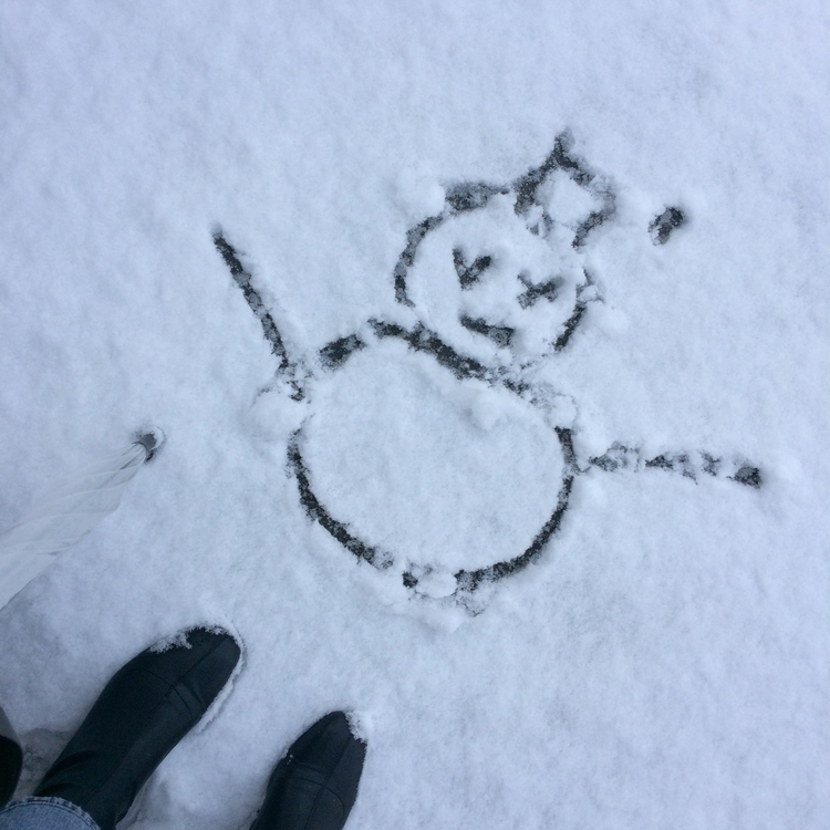눈오는 핑계로, 한시간 이른 퇴근 핑계로 - h_ra | ello
