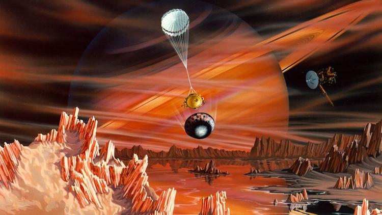 ¿Vida en Titán? Luna de Saturno - codigooculto | ello