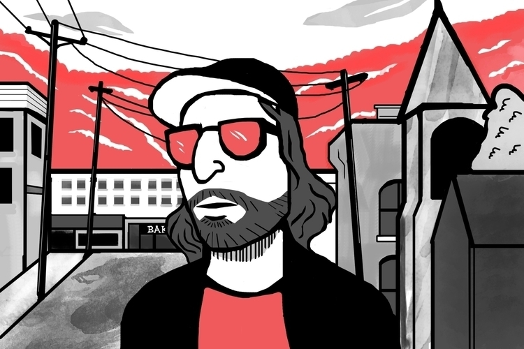 King Tuff Travel - illustration - chanteldel | ello