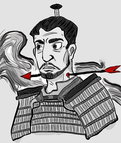 Throne Blood - illustration, movies - chanteldel | ello
