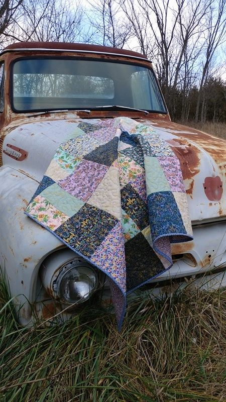 Cotton + Steel fabrics give vin - sliceofpiquilts | ello