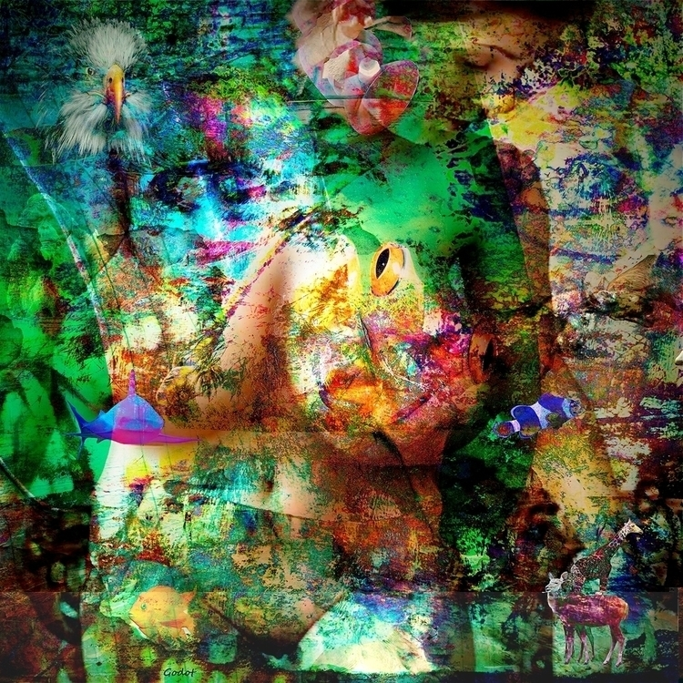 Artist: Gode Wilke Title: Isis  - artgodot | ello