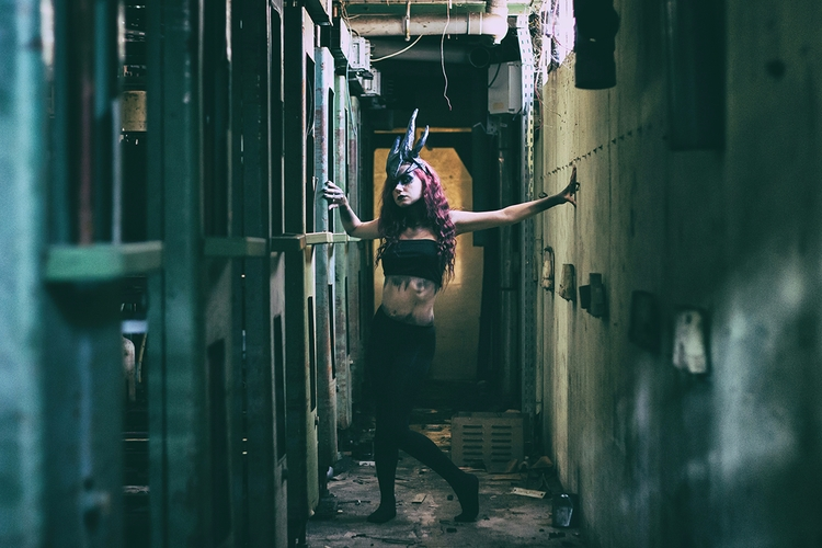 """Harpy"" — Photographer: Model:  - darkbeautymag | ello"