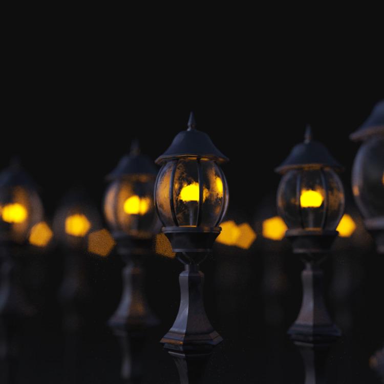 lights - 3d, c4d, render, cinema4d - petr_lahodny | ello