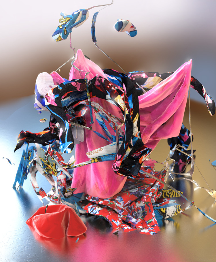 series Kenzo garment armatures - noises | ello