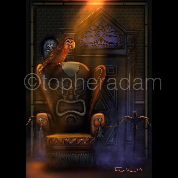 Haunted Tiki Topher Adam 2018 - topheradam | ello
