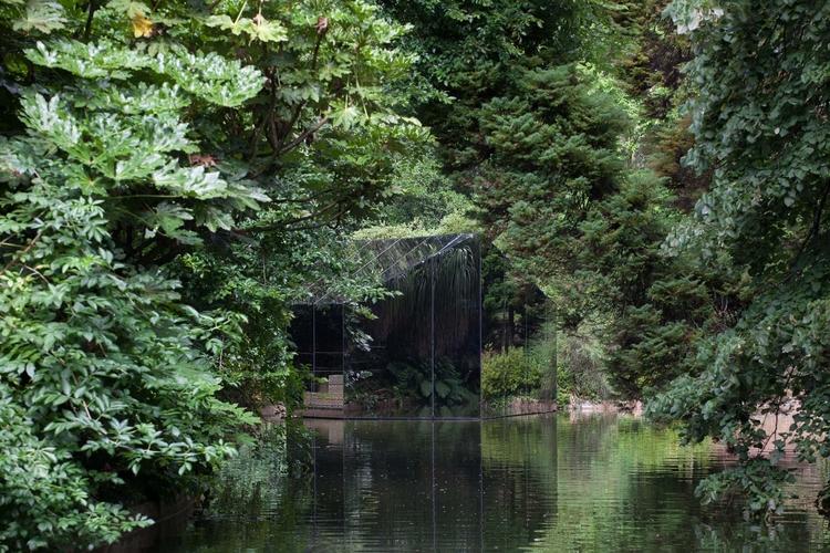 pavilion art blurs materiality  - thisispaper | ello