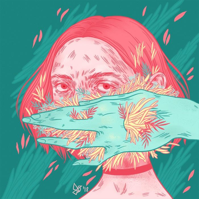 2018 - illustration, art - dariagolab | ello