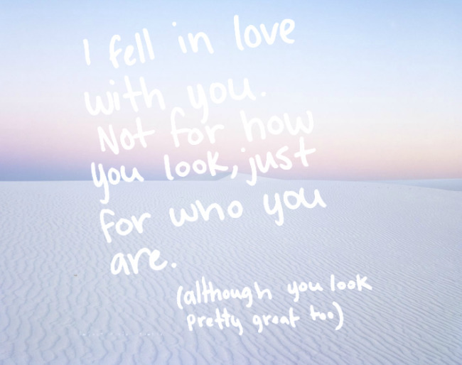 fell love - loversquotes | ello