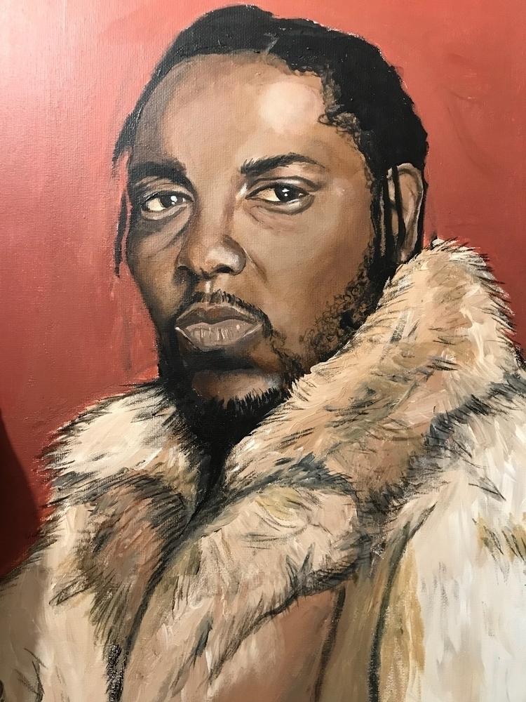 Kendrick Lamar Acrylics, overni - vp-art | ello