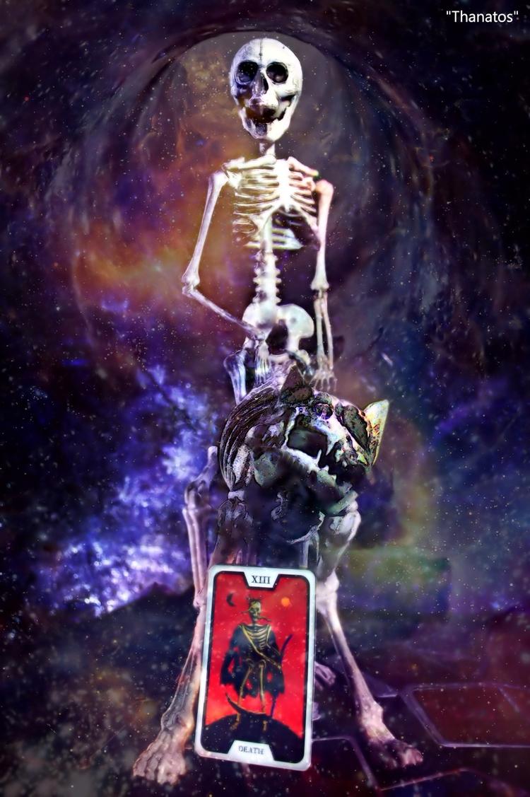 Work Thanatos Skull Dancers - G - greycrossstudios | ello