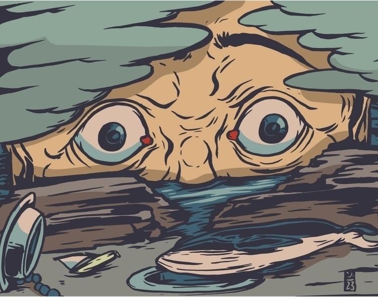 Drain - illustration - thomcat23 | ello