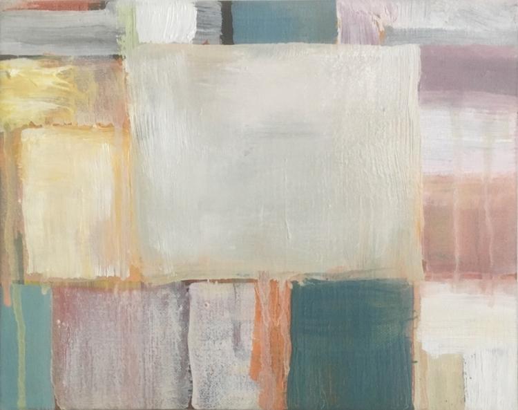 Oil painting 24x18 cm. Winter  - geertjadoul | ello
