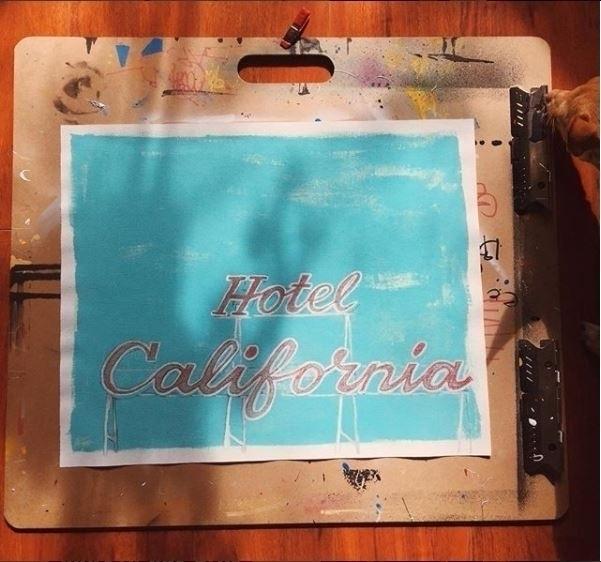 Sketchy Hotel California - Penc - corilrg | ello