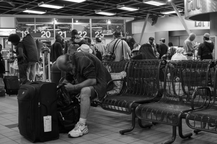 Weary travelers waiting perfect - photolobo | ello