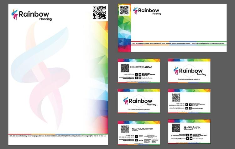 Rainbow Flooring Branding Packa - maveez | ello