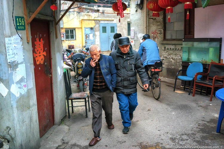 Shanghai Disappearing City - Streetphotography - arnevanoosterom   ello