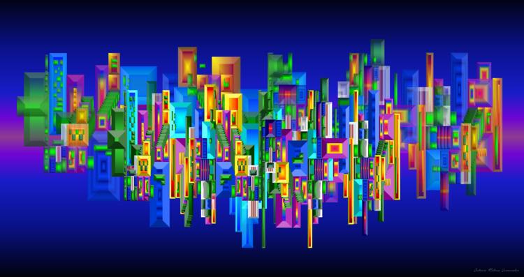 CUADRILATERO (Arte Digital - anmova | ello