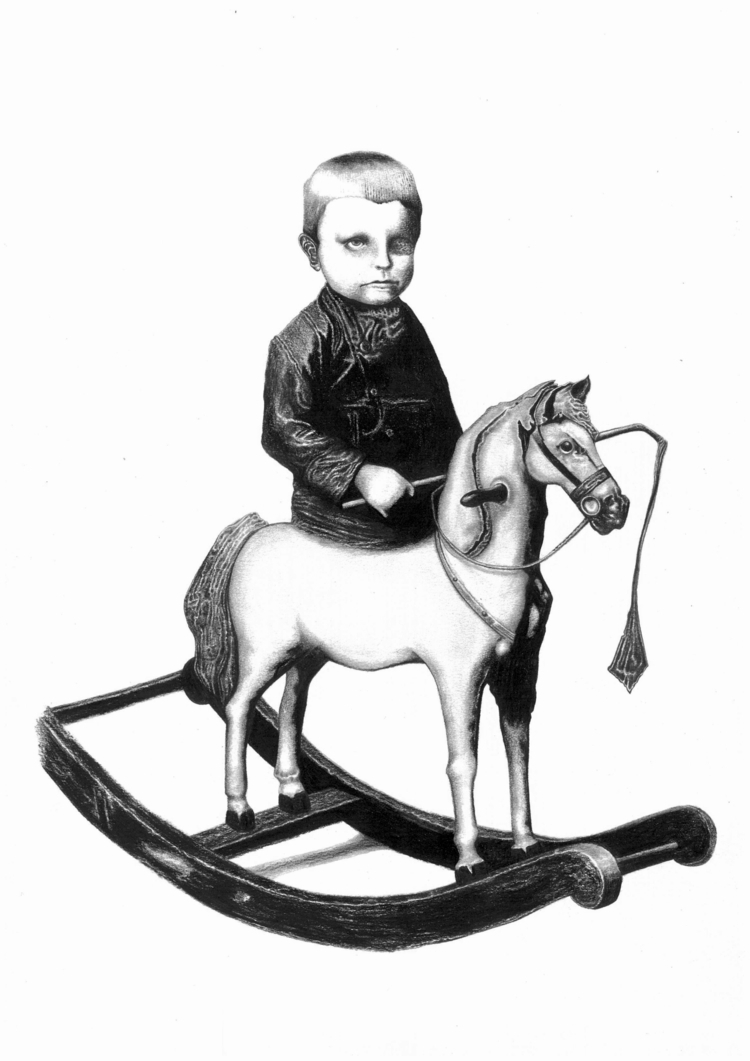 Study Rocking Horse Boy, 2015 G - allisonmlow | ello