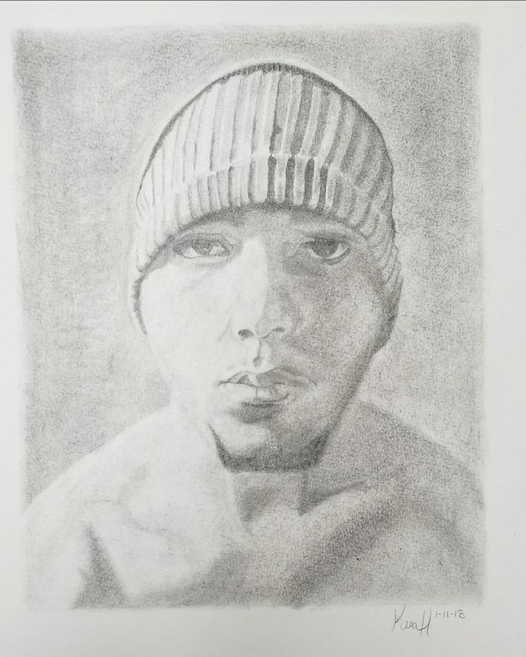Portrait drawing friend 2b Grap - kerastarrart | ello