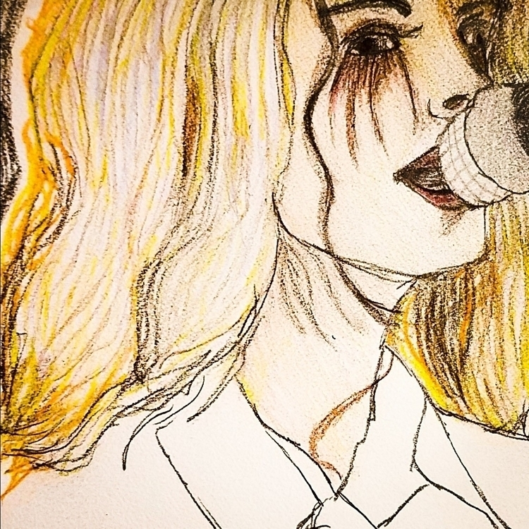 Wip hayley - hayleywilliams, drawing - andaelentari | ello